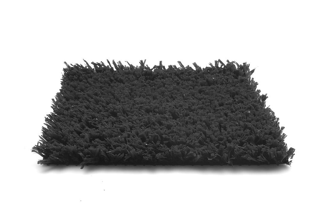 Kunstgras Playgrass - Speelvelden - 10 Kleuren - 24 mm Poolhoogte - Antraciet