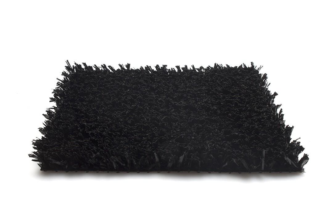 Kunstgras Playgrass - Speelvelden - 10 Kleuren - 24 mm Poolhoogte - Zwart