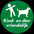 Kind en dier vriendelijk kunstgras